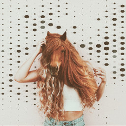 freetoedit piscart picsartchallenge picsartedit challenge effect effects madewithpicsart animal animalface horse hair horseface myedit myremix ecmyanimalalterego myanimalalterego