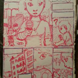 freetoedit comic pudding art drawing ninja variant