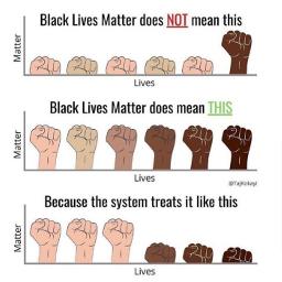 blm blacklivesmatter equalityforeveryone plsbekind plsbenice treatpeoplewithkindness freetoedit
