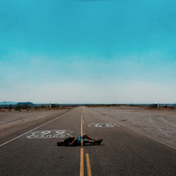 road street highway route66 go photography people surreal edit myedit