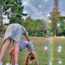 harveymills tillymills andimharvey maxadnharvey millsie rainbow sparkles effieltower paris maxandharveyoffical france harvey tilly