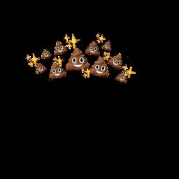 freetoedit emoji emojicrown crown crownemoji poop poopcrown poopemoji