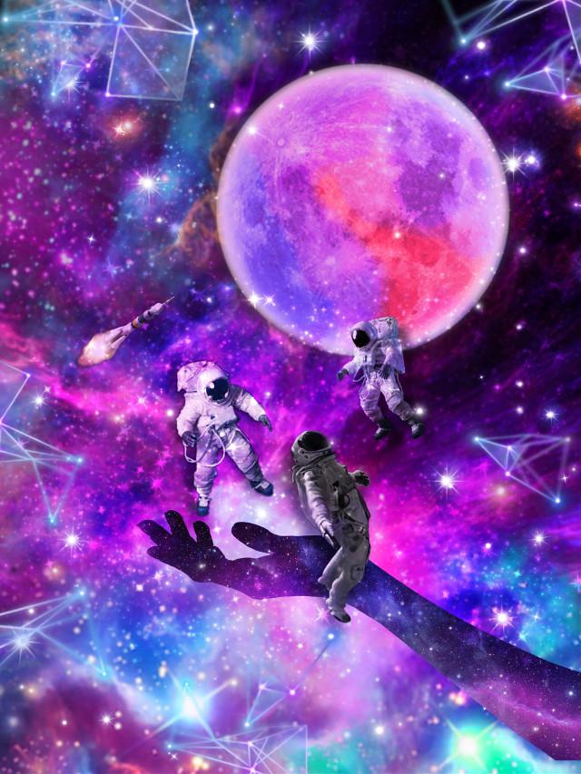 #freetoedit #astronaut #space #rocket #galaxy #milkyway #fyp #sky #abstract #colorful #fantasy #fantasyart #spacemen #lostinspace