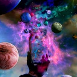 freetoedit 5 planets moons stars ircmagicjar