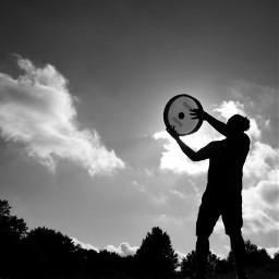bw bnw blackandwhite bwphotography bnwphotography framedrum rhythm blackandwhitephotography silhouette freetoedit