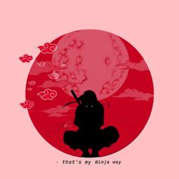 anime wallpaper naruto baruto ninja background color red aesthetic lockscreen homescreen sasuke kakashi way art japan interesting wallpapers people moon manga cloud hd iphone hokage freetoedit