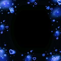 freetoedit darkblue darkblueaesthetic blueborder bluehearts