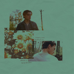 tomholland thedevilallthetime film actor green flowers edit freetoedit