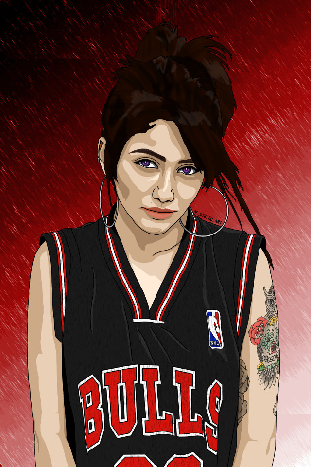 Hope everyone is having a wonderful week so far. Heres the new drawing.     #AC_DIGITAL_ART #art #artist #picsart #picsartedit #painting #drawing #portrait #people #girl #girls #graphicart #graphicdesign #vectorart #vector #vectors #digitalart #digitalpainting #digitaldrawing  #chicagobulls