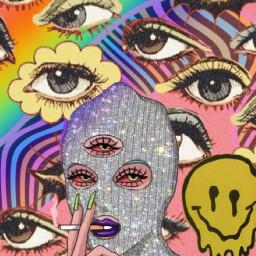 trippy glitteroverlay overlay challenge tiktok art aesthetic freetoedit srcglitteroverlay