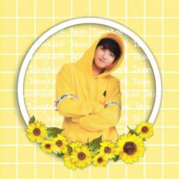 jeonjungkook jungkookaesthetic yellow bts btsjungkook yellowaesthetic jungkookyellow freetoedit