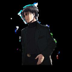 freetoedit anime otaku 2d animeboy snk levi leviackerman stiker shingekinokyojin attackontitan ackerman otakusquad levi_ackerman animes eren boyfriend husband husbando