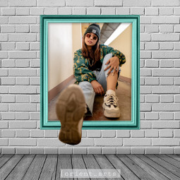 frame wall prettygirl threedimensional 3d orient_arts madewithpicsart freetoedit papicks stayinspired createfromhome remixit