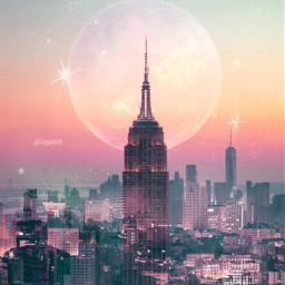 freetoedit myedit myart moonart city