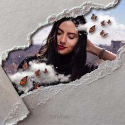 replayedit remixed rippedpaper portrait freetoedit