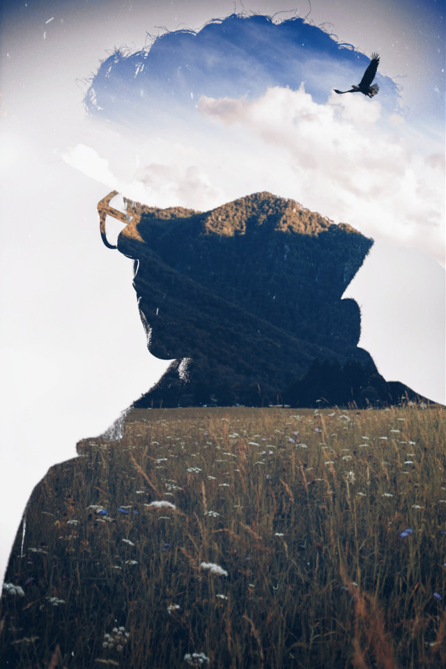#doubleexposure #artisticportrait #filter #surreal #editedstepbystep #madewithpicsart   #freetoedit