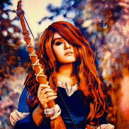 freetoedit woman redhair warmcolors autum myedit