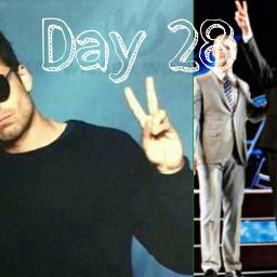 tomhiddleston sebastianstan cuties peacesign peace idolchallenge 30dayidolchallenge day28