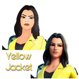 freetoedit yellowjacket fortnite fortniteart