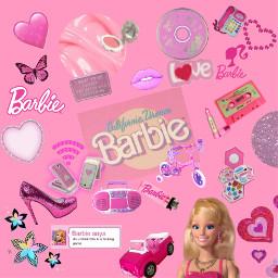 freetoedit barbie barbiegirl doll angel pink aesthetic softedit softgirl y2k sparkle