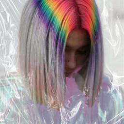 colors artist digitalart kpop hair colorful colorsplash mask efects freetoedit