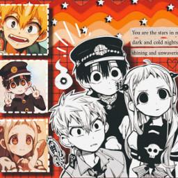 hanako hanakokun hanakoedit kou kouminamoto nenechan neneyashiro anime animegirl animeboy freetoedit
