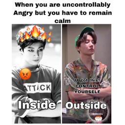 edit meme bts army jungkook hobi angry moodboard
