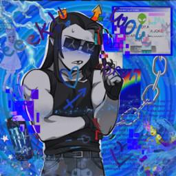 homestuck scenecore scene edgy rainbowcore webcore cybercore clowncore kidcore glitch glitchcore cyber web oldweb equius equiuszahhak hs homestuckedit freetoedit