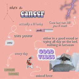 freetoedit zodiac zodiacsign cancer cancerzodiac