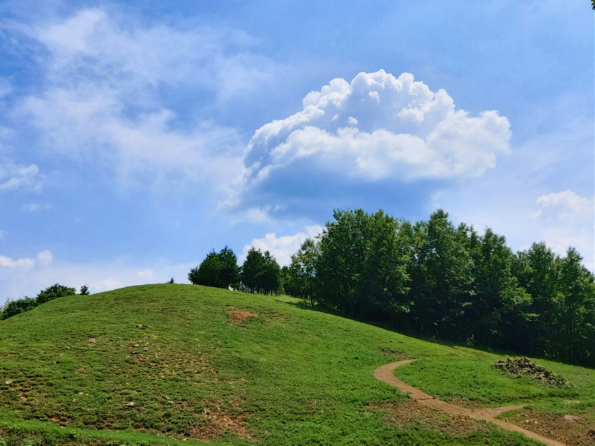 #hill #sky  #freetoedit