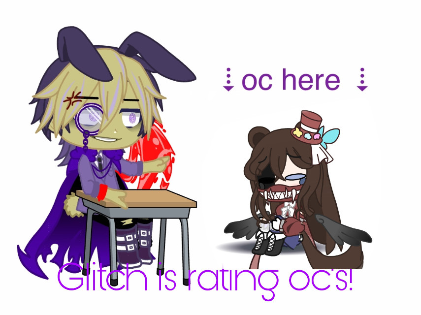 #freetoedit glitch is the only person that terrifies me in blep family group chat -w-