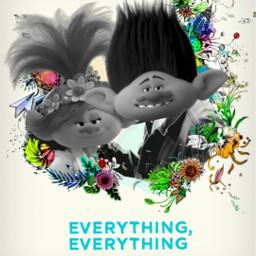 freetoedit everythingeverything trolls poster