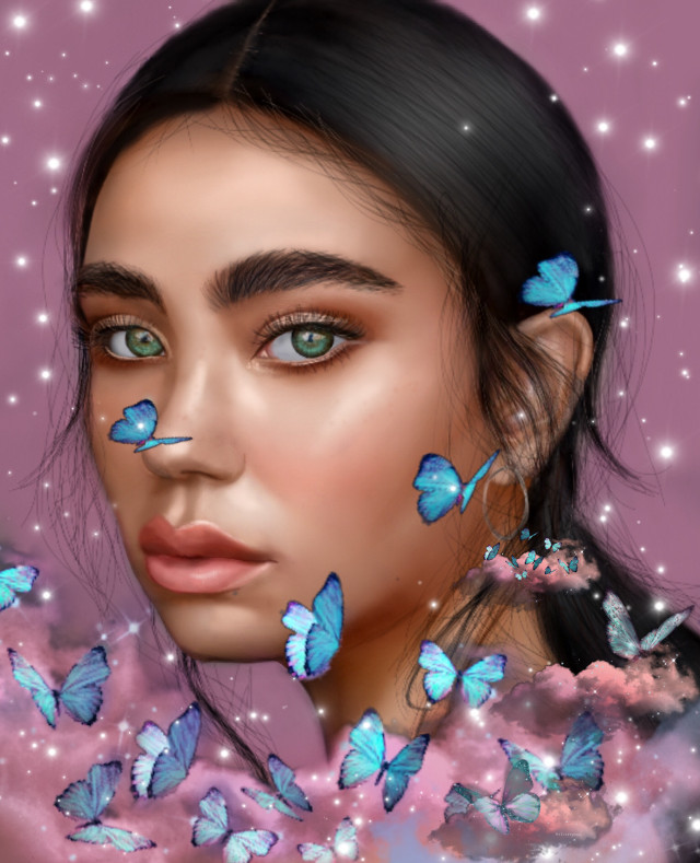 #freetoedit #digitalart #digitalpainting #digitalillustration #digitalsketch #girlwithbutterflies #beautifulgirl #digitaldrawing #digitalartgirl #digitaldrawinggirl #butterflies #skywithbutterflies #digitalartwork