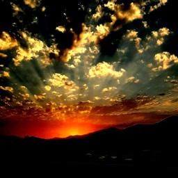 freetoedit sun sonset sky ontheroad ontrip mobilephotography photography