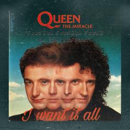 iwantitall themiracle albumchallenge queen queenband rocknroll 80s