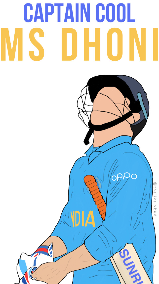 Follow me on Instagram : thelivelybud  #drawing #outlinesdrawing #mydrawing #madewithpicsart #heypicsart #outlineart #outlinedrawing  #msd #msdhoni #dhoni #bestcaptainever #indiancricket #player #sportsman #freetoedit