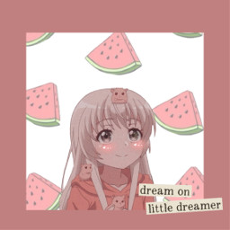 girl bruh watermelon freetoedit