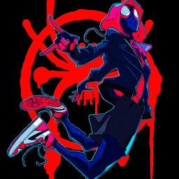 spiderman milesmorales spidermanintothespiderverse spiderverse marvel marvelcomics