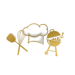 gold grilled grill grilling chefhat freetoedit