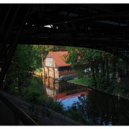 bridge water shadow myberlin freetoedit