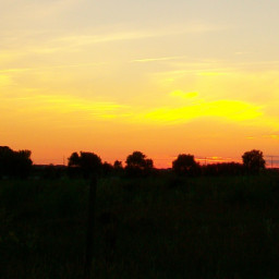 freetoedit silhouette sunset myphoto myphotography farm rural wisconsin