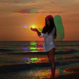 efects colors levitation art pop artpop sunset freetoedit