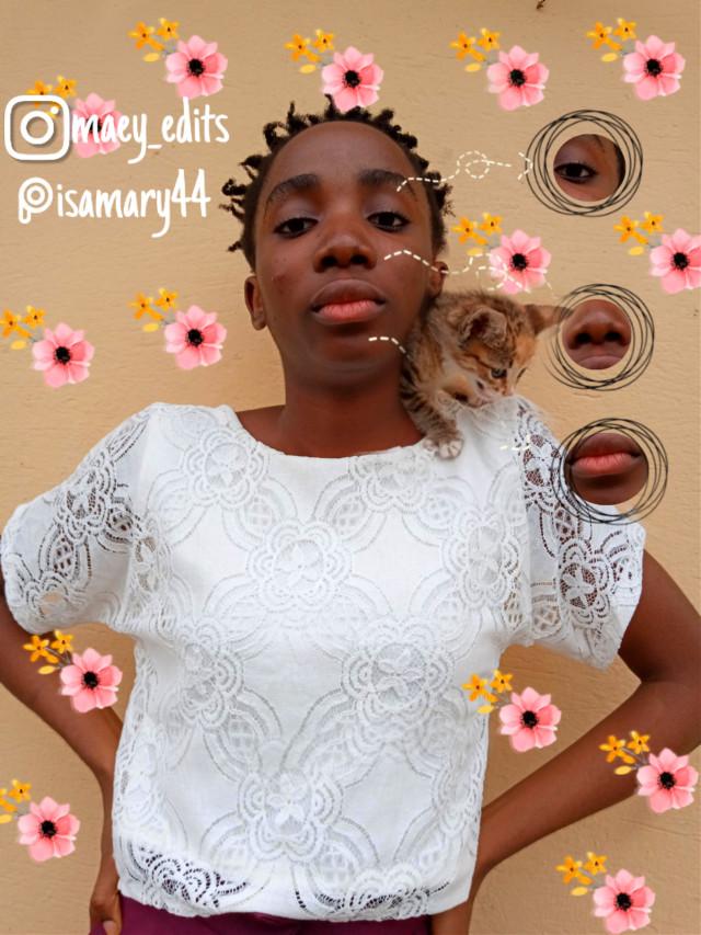 #freetoedit #catarts #cataesthetics #blackgirlsarebeautiful #maeyedits #catquotes #blackgirlsrock
