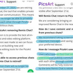 remixchat remixchatremoval remixit repostit important saveremixchat read picsart news freetoedit
