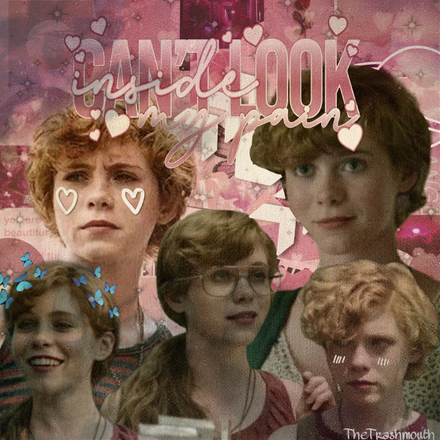 ✨EEEP✨  Whø: Beverly Marsh  Hów łōñg: 10 minutes  Whåt tįmë: 2:58 pm  Thémē: Pink aesthetic  Šöńg: Comfort Crowd- Conan Gray  Ńœtëš: Bevvie-Bevvie from the leevie. It's a reference to the book 11-22-63  Håśhtãgš: #beverlymarsh #bevmarsh #beverly #bev #marsh #sophialillis #sydneynovak #it #itchapterone #itchaptertwo #it2017 #losersclub #losers #loser #queen #pink #beverlymarshaesthetic #beverlymarshedit   ~tâgś~ @blxxdy_tears  @lilyocean_147  @gay_ass_clown  @reddie-  @can_i_have_a_cookie  @stutteringbill  @wyatts_bitch  @__stranger_things_ed  @-deadgirlinthepool-  @melissa_jess_oleff  @bremmie1  @bremmie2  @jackdylantomholland2  @bohemianlillis-  @jaebaemartell  @dead_gay_walking   ~frįėñdś~ 🍑 @thepeqchscene-  🛀 @qizaipanda  😼 @h3llok1ttykn1fe   If you want to be added, removed or have changed your username, please remix chat me.