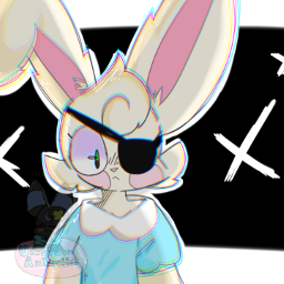 art myart digitalart piggy piggyalpha piggyroblox roblox edit fanart bunny bunnypiggy piggybunny gift 💌
