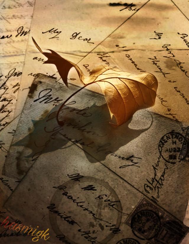 #freetoedit #letters #paper #vintage #retro #old #leaf #sunny #memories #imagination #myedit #editwithpicsart #picsarteffects #picsart #heypicsart @freetoedit