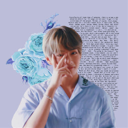 freetoedit taehyung bts blue purpleaesthetic aesthetic purple viralarmy viral music blueflowers flowers writing army