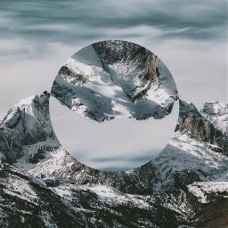 絶景 景色 landscape surreal mountain
