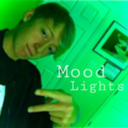 moodlighting green blur photography color guy peacesign